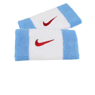 Muñequeras Nike Swoosh Doublewide