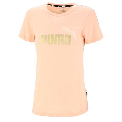 Remera Puma Ess+ Metallic Logo