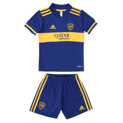 Conjunto Minikit adidas Boca Juniors Home 2021