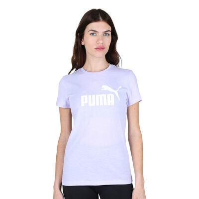 Remera Puma Ess Logo Heather