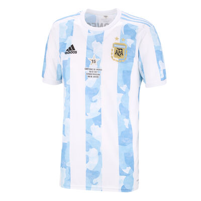 "Camiseta adidas AFA Selección Argentina 2021 ""Campeones de América"""