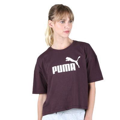 Remera Puma Essentials Cropped Logo