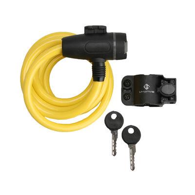 Cable de 180m con Llave y Agarre Clip Blanco M-Wave